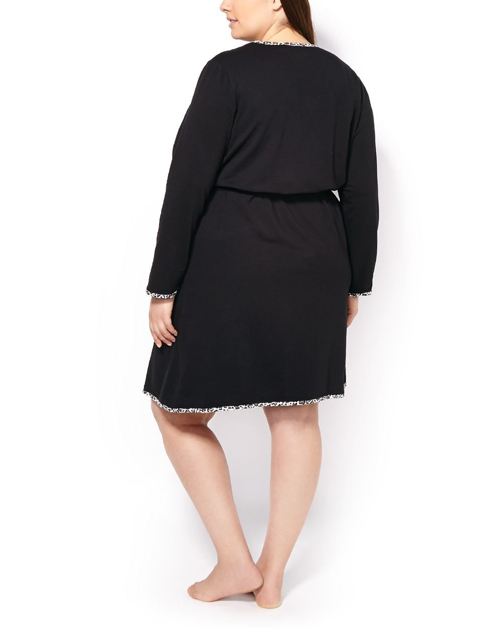 55010d446 Ti Voglio Long Sleeve Belted Robe