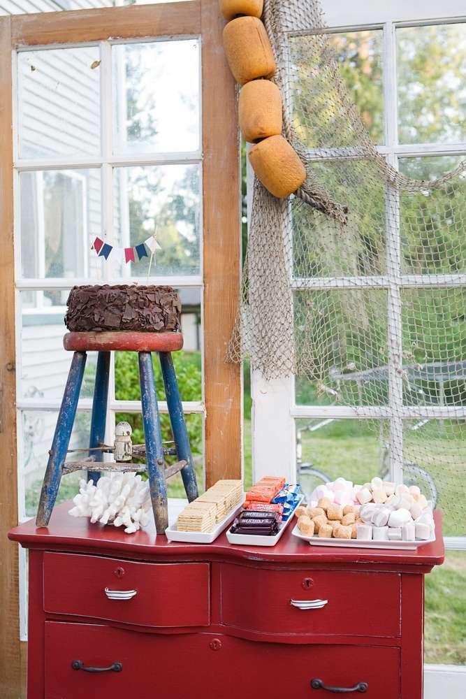 Coastal Nautical Birthday Party Ideas Feestdagen