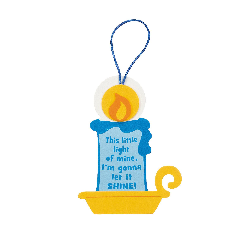 This Little Light Of Mine Ornament Craft Kit
