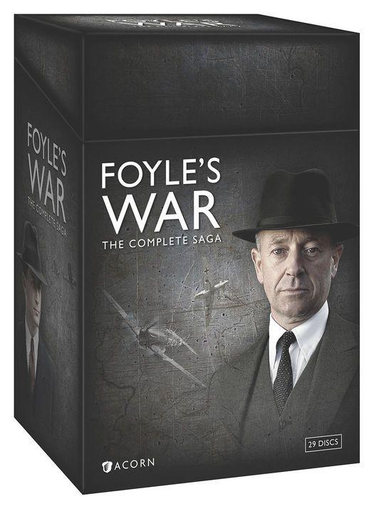 Foyle S War The Complete Saga Period Dramas Netflix Streaming Tv Series