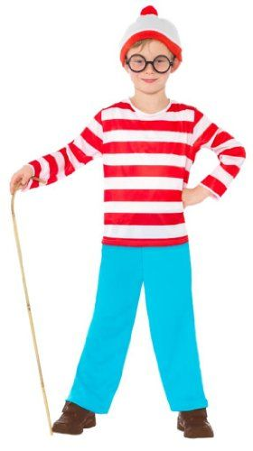 smiffy s where s wally child costume child m smiffy s http www