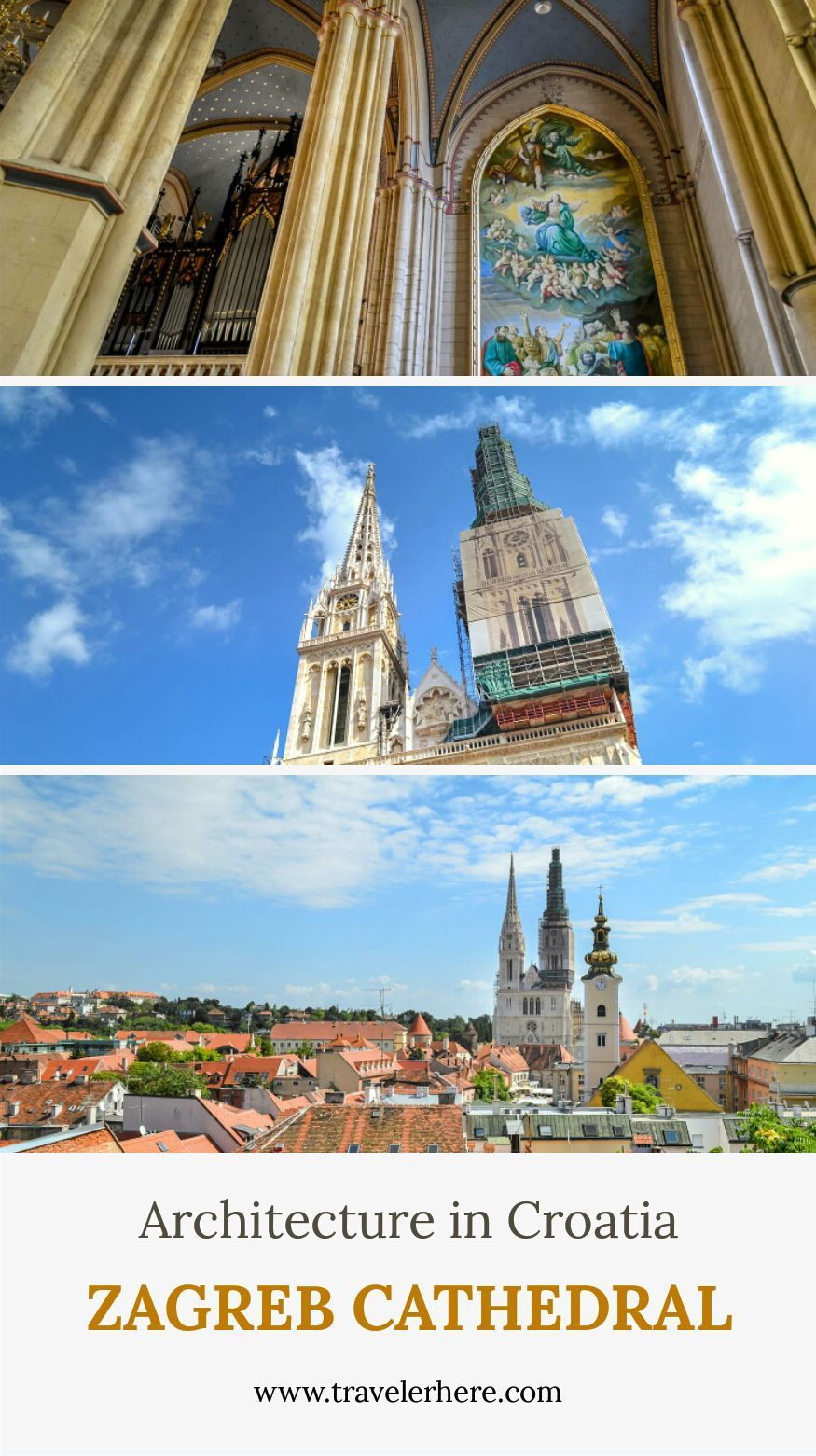 Neo Gothic Architecture Zagreb Cathedral Croatia In 2020 Croatia Cathedral Zagreb