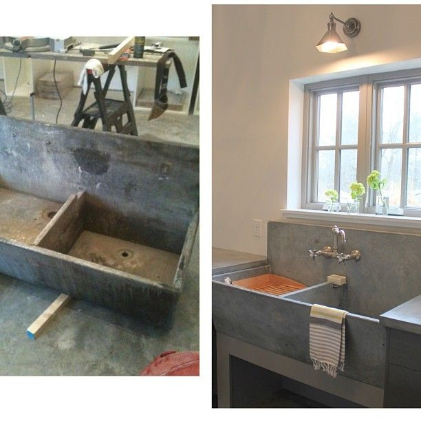 restoration of a soapstone sink