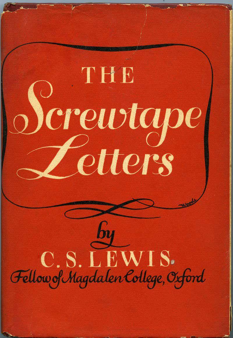 The Screwtape Letters Cs Lewis Books Books Worth Reading