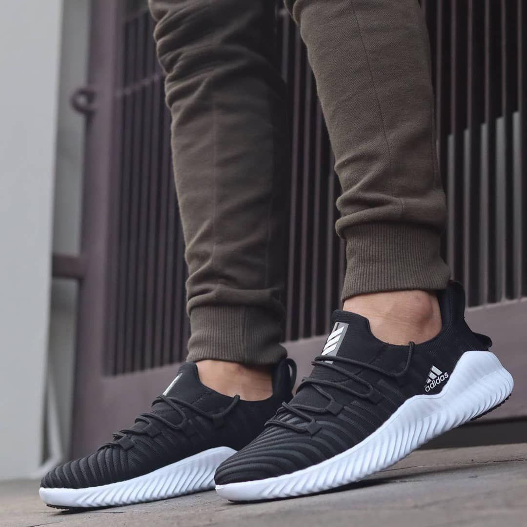 Adidas Alphabounce Trainer Men Black White Stock Size 39 44