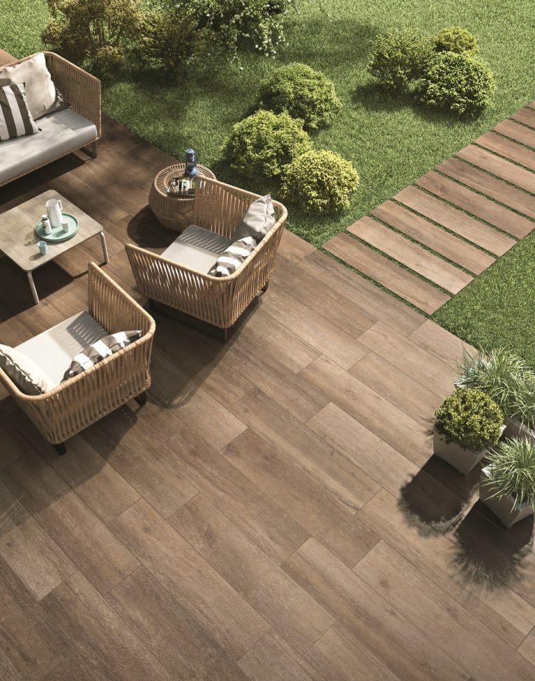 Porcelain The Ultimate Outdoor Tile Conestoga Tile Outdoor Tile Patio Outdoor Wood Tiles Outdoor Tiles