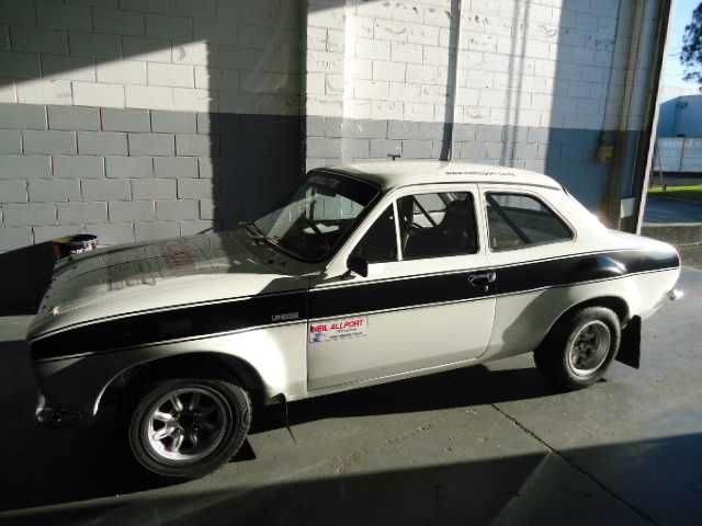 Car Was Second Overall In 2012 New Zealand Silver Fern Full Historic Spec Car Very High Specification Built From A Rust Free Shell Using All Gartra Escort Mk1