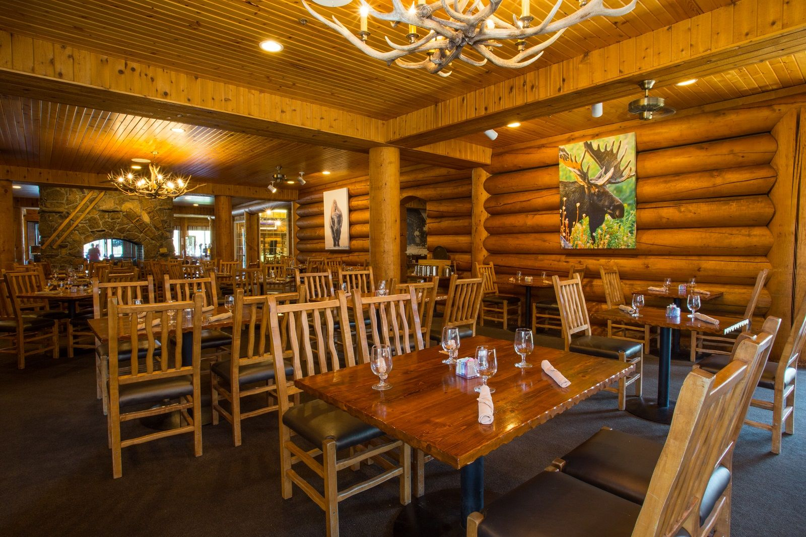 Headwaters Lodge At Flagg Ranch   Sheffields Restaurant   Dining   Cabins  In Between Yellowstone And