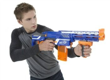 Outdoor Games for Kids to Play with Nerf Guns
