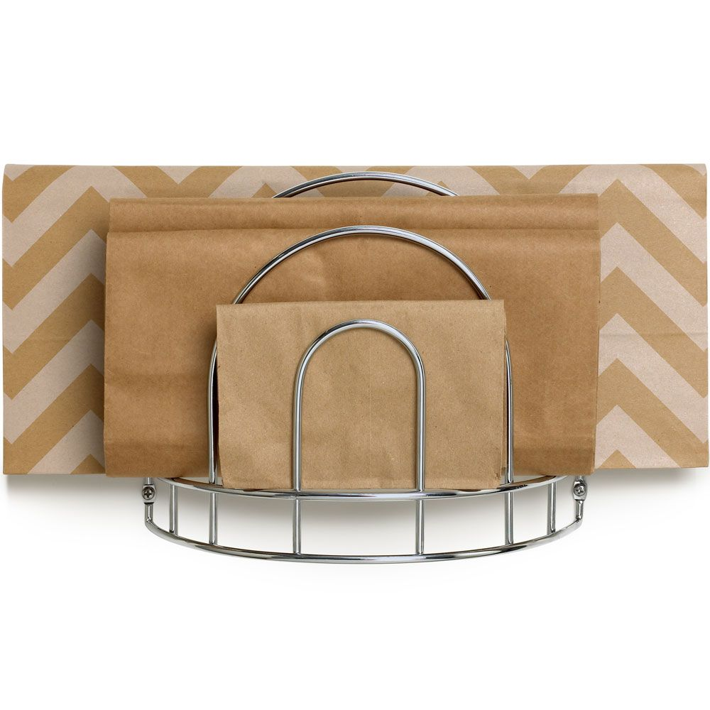 Exceptional Paper Bag Storage Rack