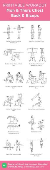 48+  Ideas for fitness workouts chest strength training,  #chest #FITNESS #Ideas #Strength #strength...