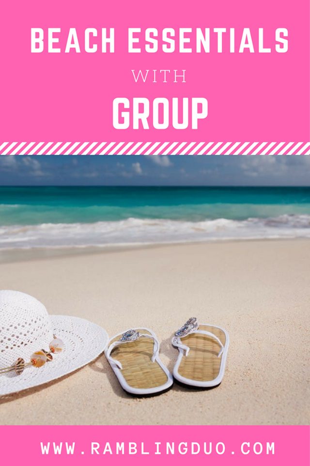 39fe8e61ddcd Summer is just a few weeks away. If you're planning a trip to the beach  soon, you'll want to make sure you pack these three beach essentials!