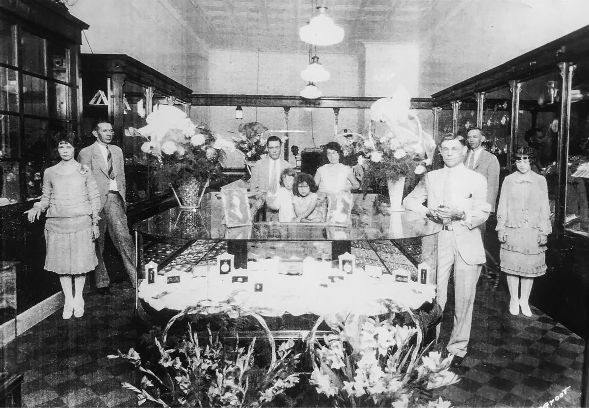 One of our stores in the 1920's.