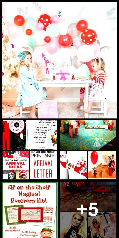 Elf on the Shelf Printable Arrival Letter for Kids