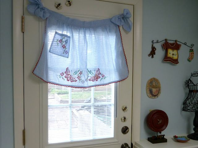 Laundry Room Cottage Curtains Laundry Room Decor Decorative Window Treatments