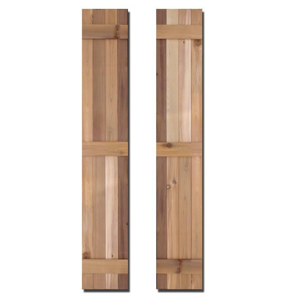 Design Craft Millworks 15 In X 75 In Natural Cedar Board N