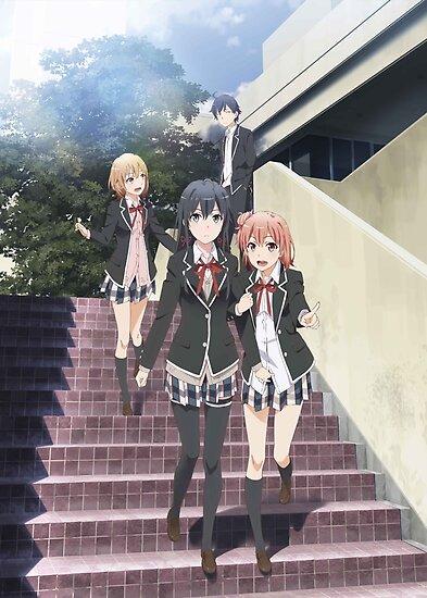 Oregairu - Yukino / Yui / Iroha / 8man Poster