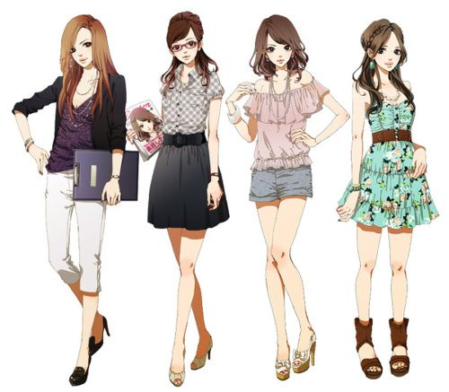 Sweet Nothings Anime Outfits Cute Fashion Fashion Illustration