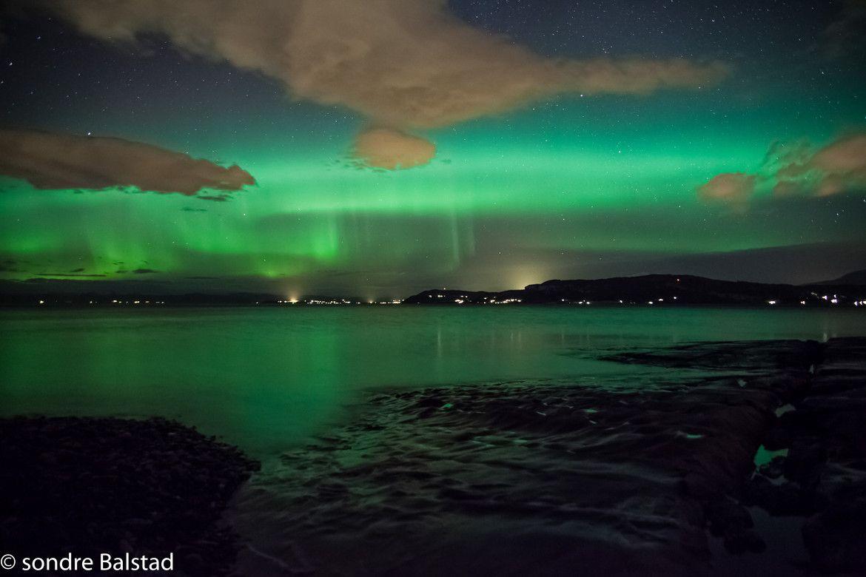 Magic lights in Muruvik