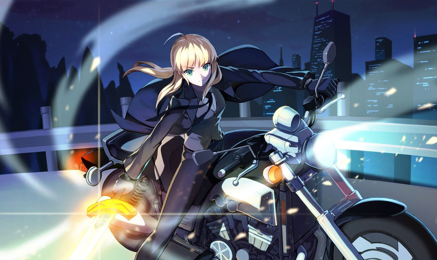 �а��инки по зап�о�� saber fate zero motorcycle