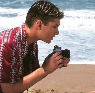 Young @jensenackles !  #JensenAckles #DeanWinchester #EricBrady #Supernatural…