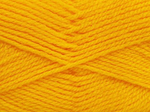 Baby Small  ~ Dark Yellow ~ $2.70 per ball & Free Shipping  6 balls per bag. Not sold individually  Versatility meets affordability; Baby Small is a 100% acrylic yarn that will keep up with all of life's adventures! Baby Small is a hard-wearing medium weight yarn that works wonders for projects where durability and easy-care is a must. With so much flexibility and a wonderful range of bright and vibrant colors, you will find endless possibilities for Baby Small.