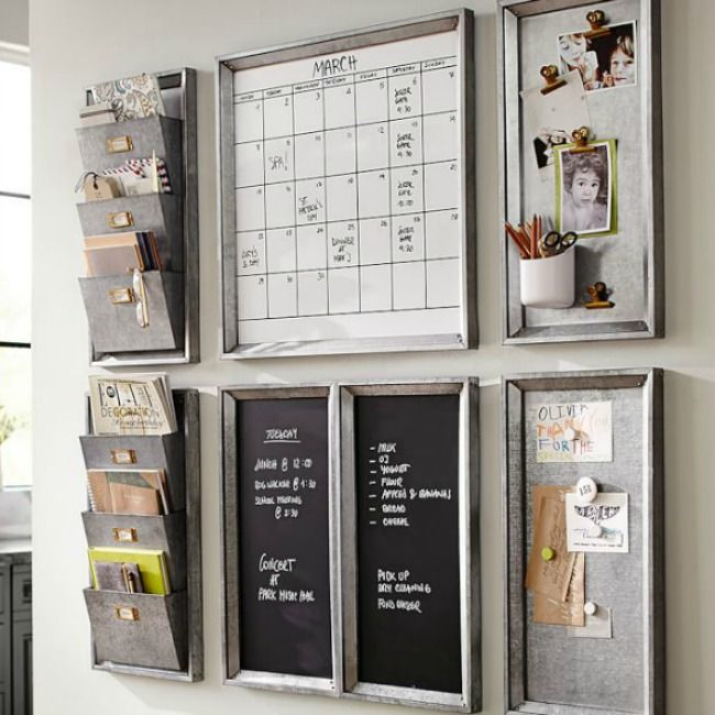 From Kitchen Command Centers To Corner Wall Command Centers Here Are The 11  Best Family Command