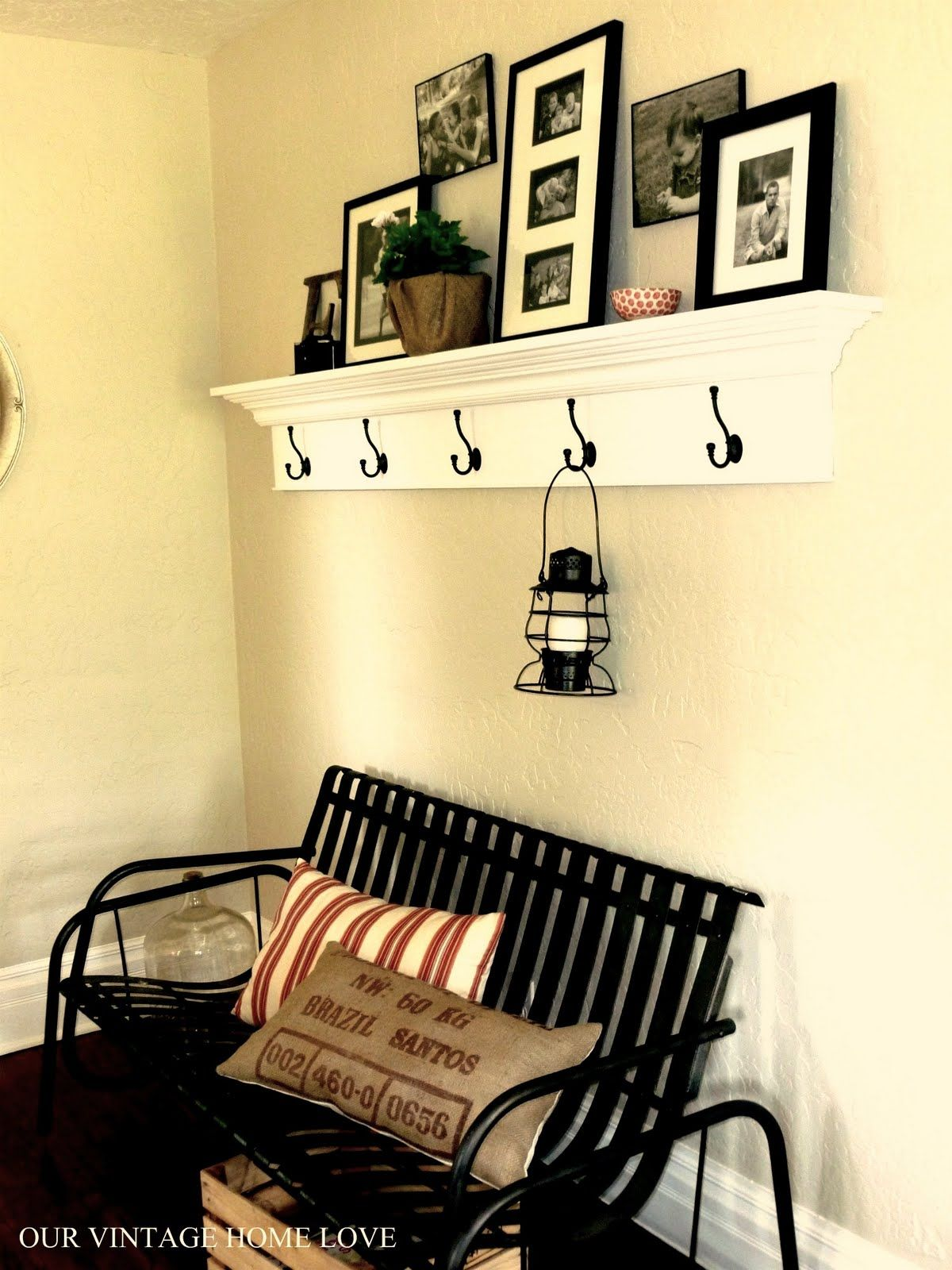 I want to make shelves like this! : Our Vintage Home Love: Cottage ...