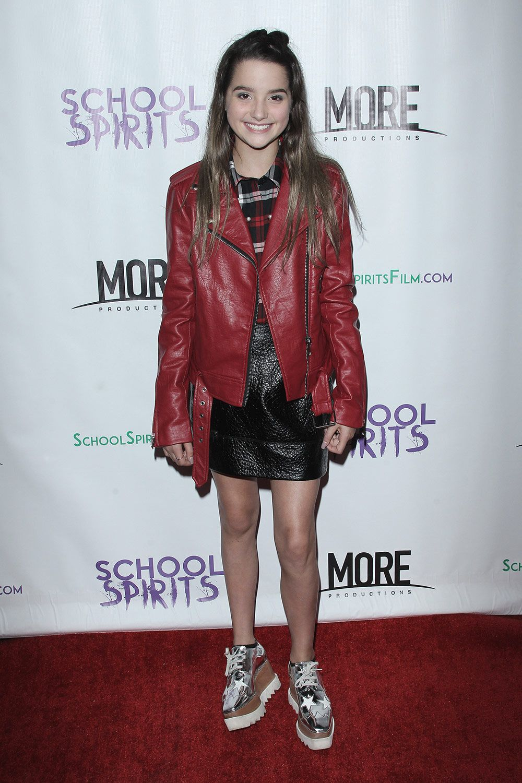 Annie LeBlanc at School Spirits Premiere  b2faf5993