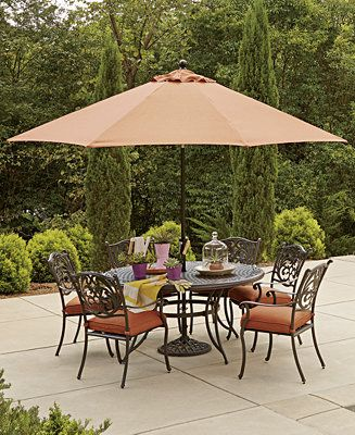 Beau Chateau Outdoor Dining Collection   Furniture   Macyu0027s