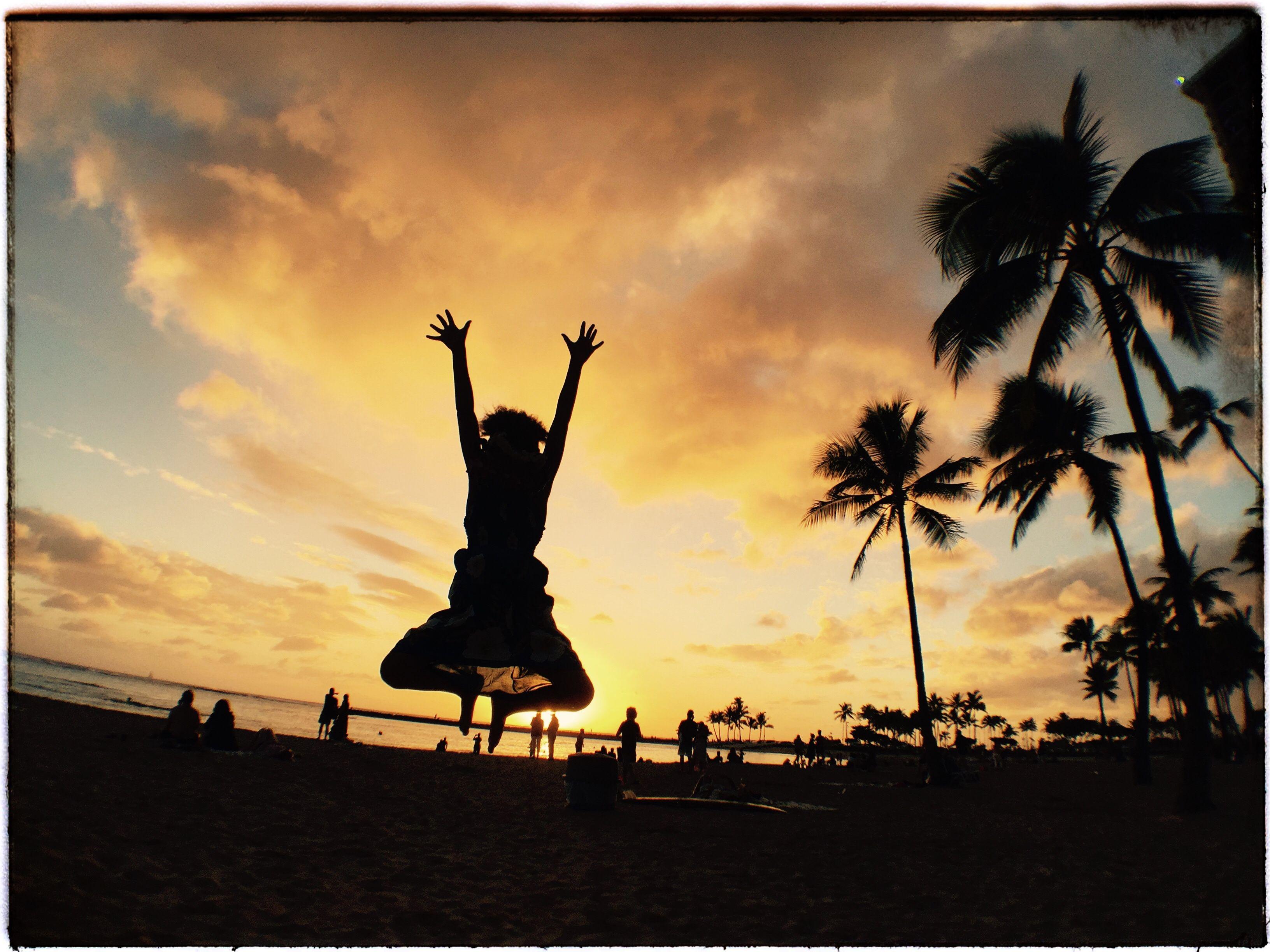 Aloha and Mahalo Hawaii! Kon'nichiwa Japan.