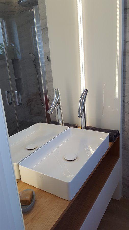 Wystrój Małej łazienki Z Prysznicem Architektura Wnętrza