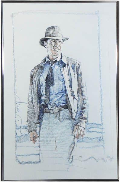Indiana Jones by Drew Struzan