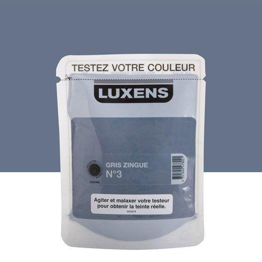 Testeur peinture Couleurs intérieures satin LUXENS, gris ...