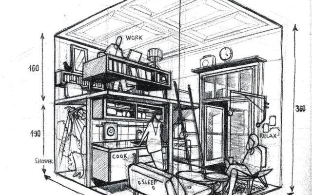 wohnen der zukunft f r 100 euro im tiny house haus und garten. Black Bedroom Furniture Sets. Home Design Ideas