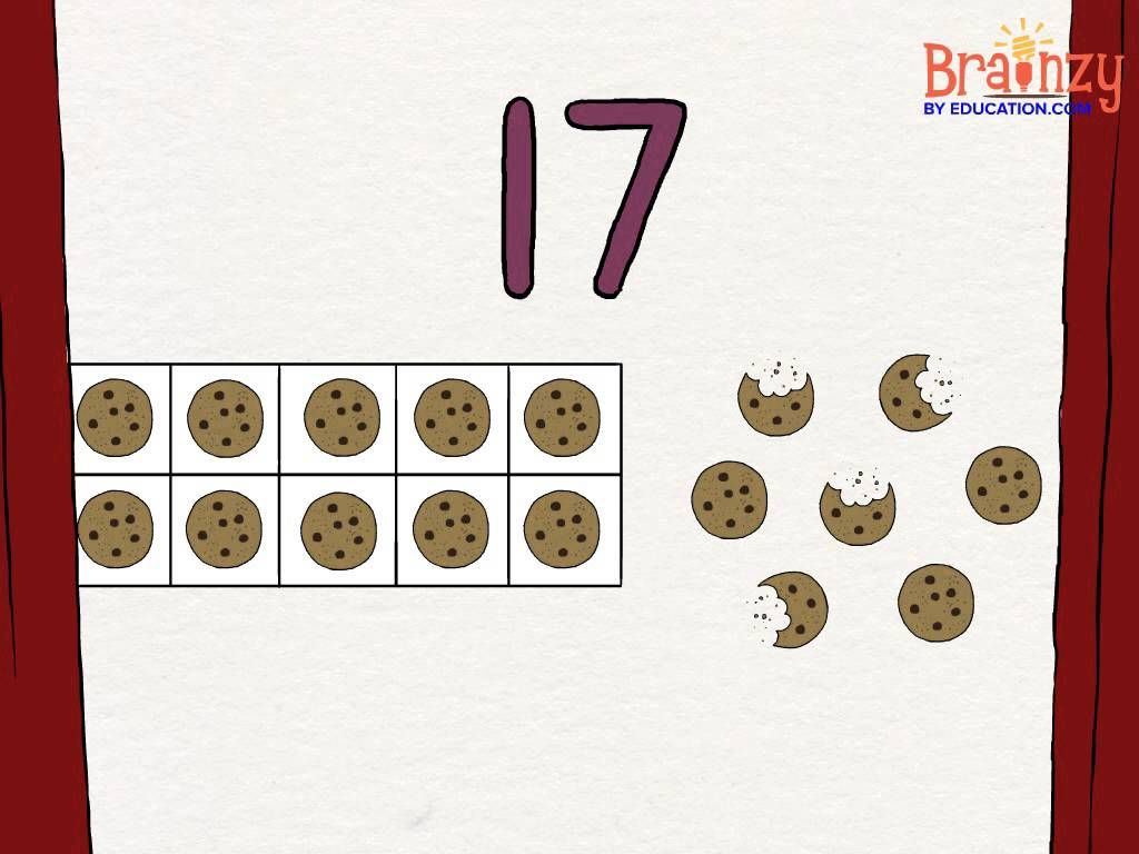 Learn To Count From 11 To 19 By Grabbing A 10 This
