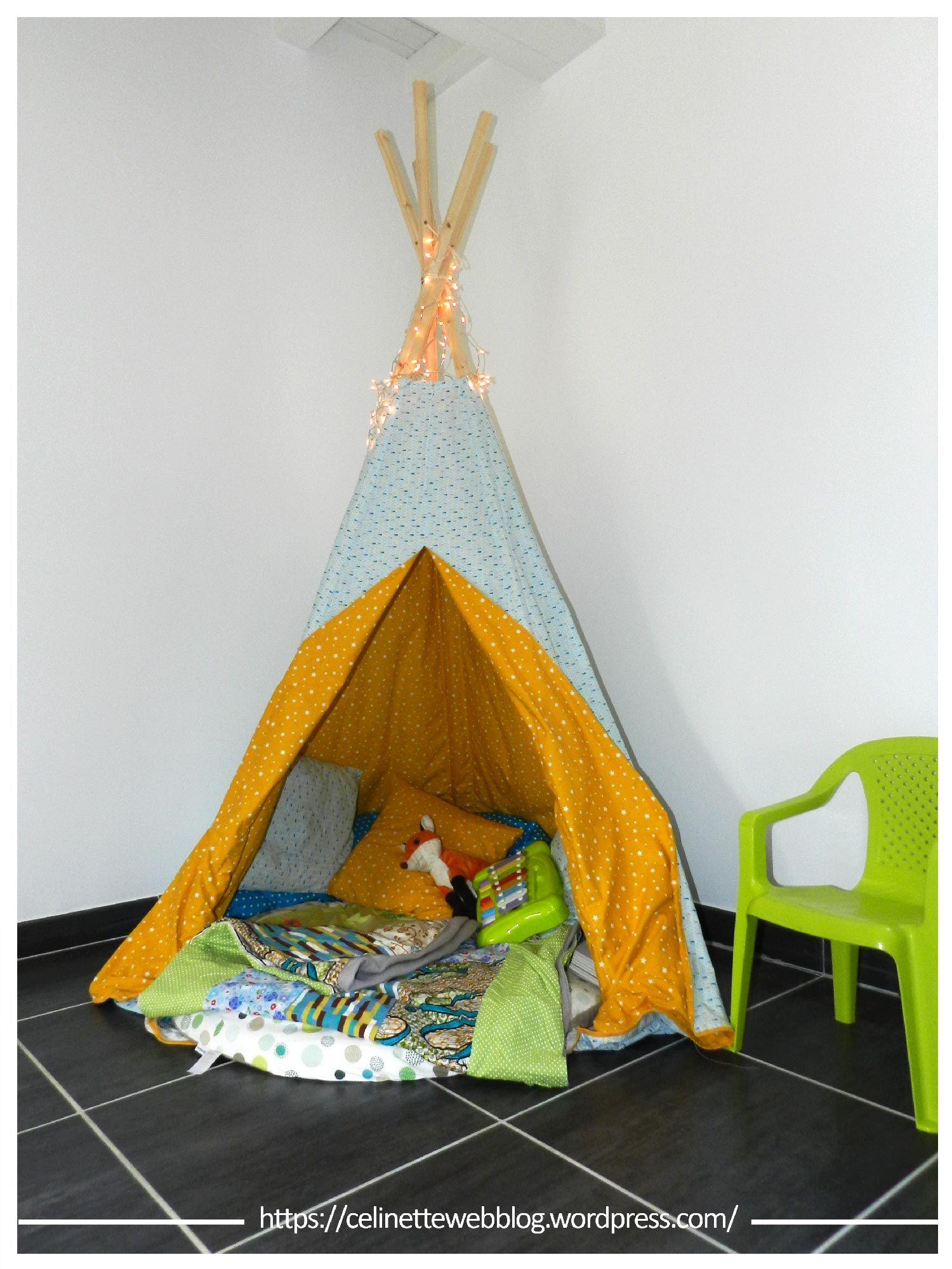 diy fabriquer un tipi enfant couture tipi enfant. Black Bedroom Furniture Sets. Home Design Ideas