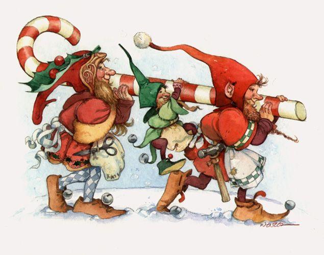 It S Elf Month Elf Christmas Card Christmas Illustration Christmas Elf