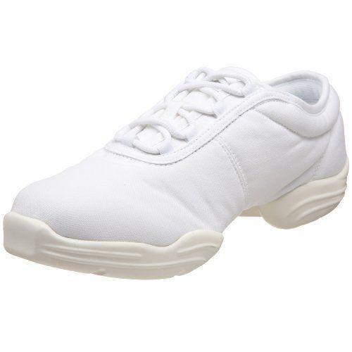 Capezio Canvas Dance SneakerWhite125 M