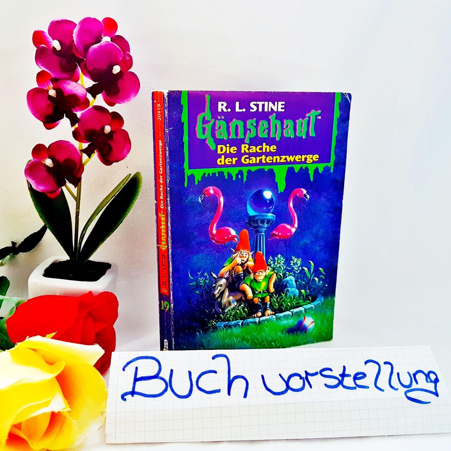 Gänsehaut Band 19 Die Rache der Gartenzwerge von R.L.Stine