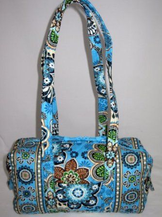 "Vera Bradley ""Handbag"" New Style in Bali Blue $49.99"