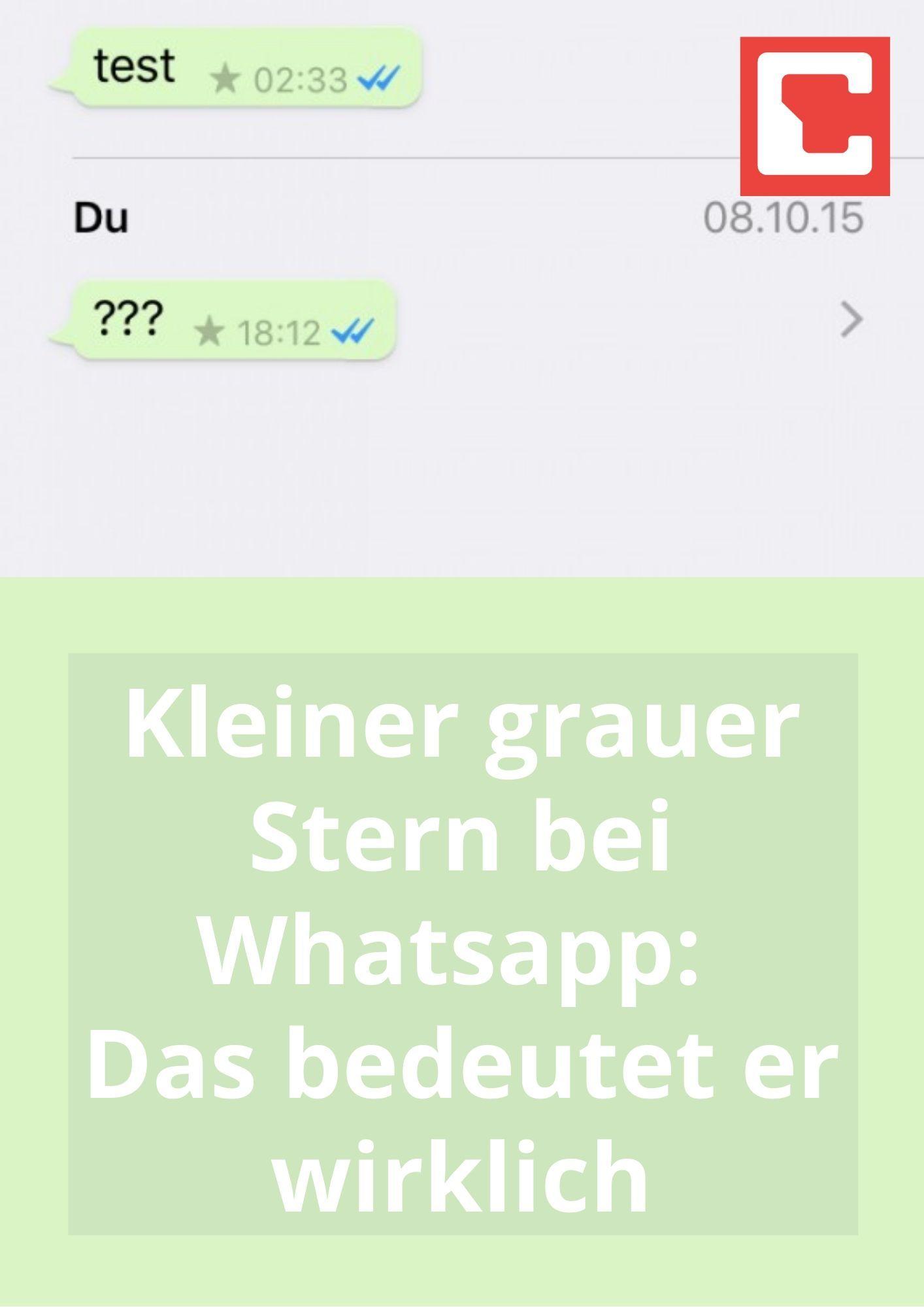 Whatsapp Mit Stern Markieren