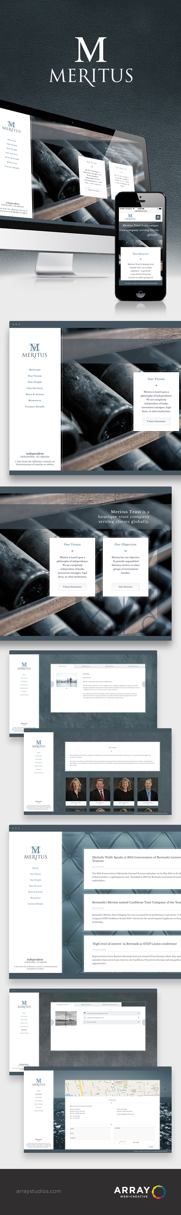 Website Launch Meritus Trust Array Web Creative Nanaimo Website Launch Web Design Inspiration Design Development