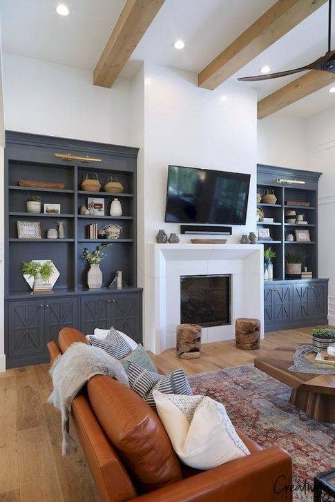 Photo of 44 Stylish Bookshelves Design Ideas For Your Living Room