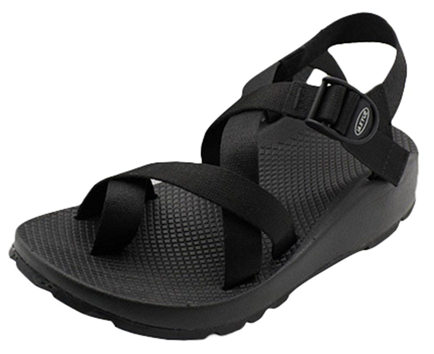 Women's Flat Sporty Beach Sandal Water Shoes Casual Athletic Sandals Plus Size
