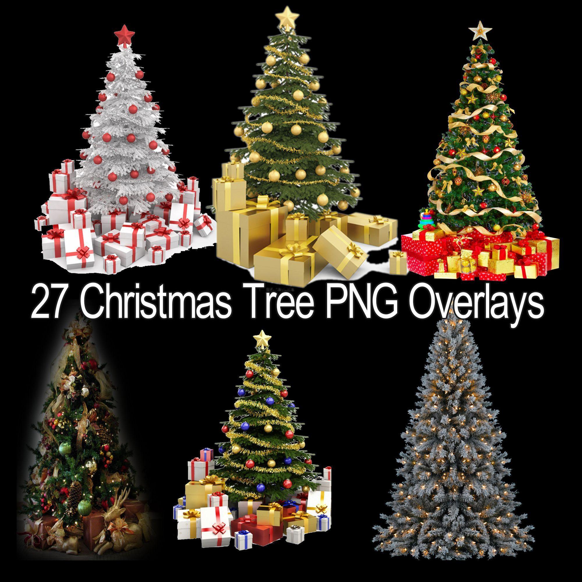 Christmas Tree Photoshop Overlays Christmas Tree Christmas Etsy Tree Photoshop Photoshop Overlays Overlays Transparent