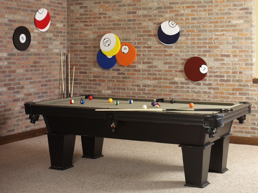 Billiard Ball Wall Art Make It Fun Diy Pool Table Diy Pool Billiards