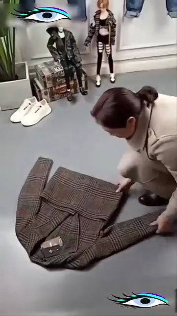The best ways of folding the clothes.