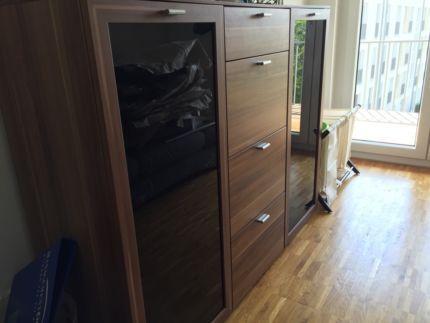 schlafzimmer wohnzimmerschrank in mnchen neuhausen ebay kleinanzeigen - Ebay Wohnzimmerschrank