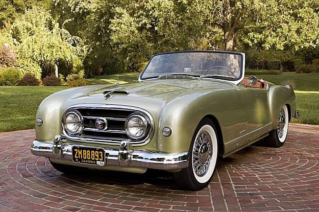 1953 Nash Healey Roadster..Re-pin Brought to you by agents at #HouseofInsurance …
